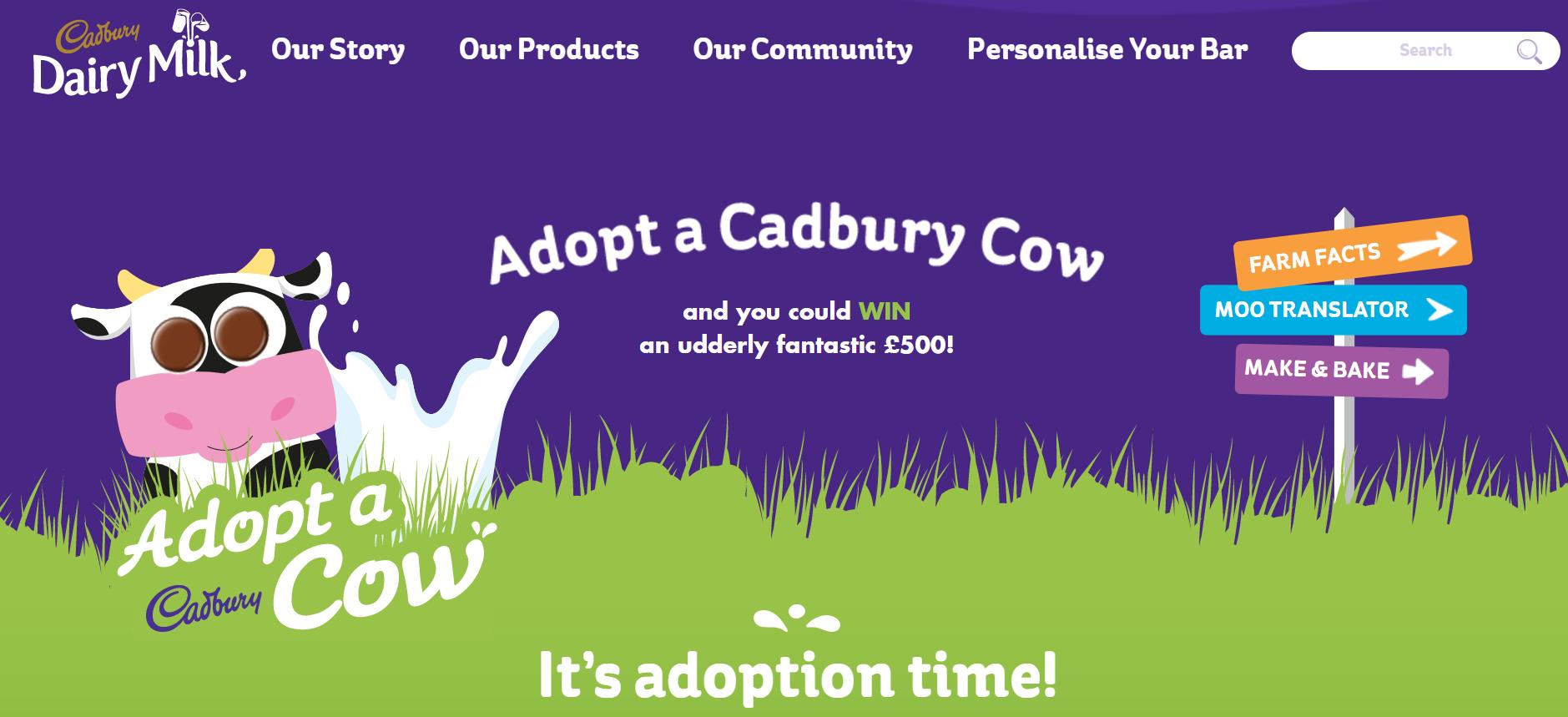 Cadbury's experiential reward pulled the heart strings