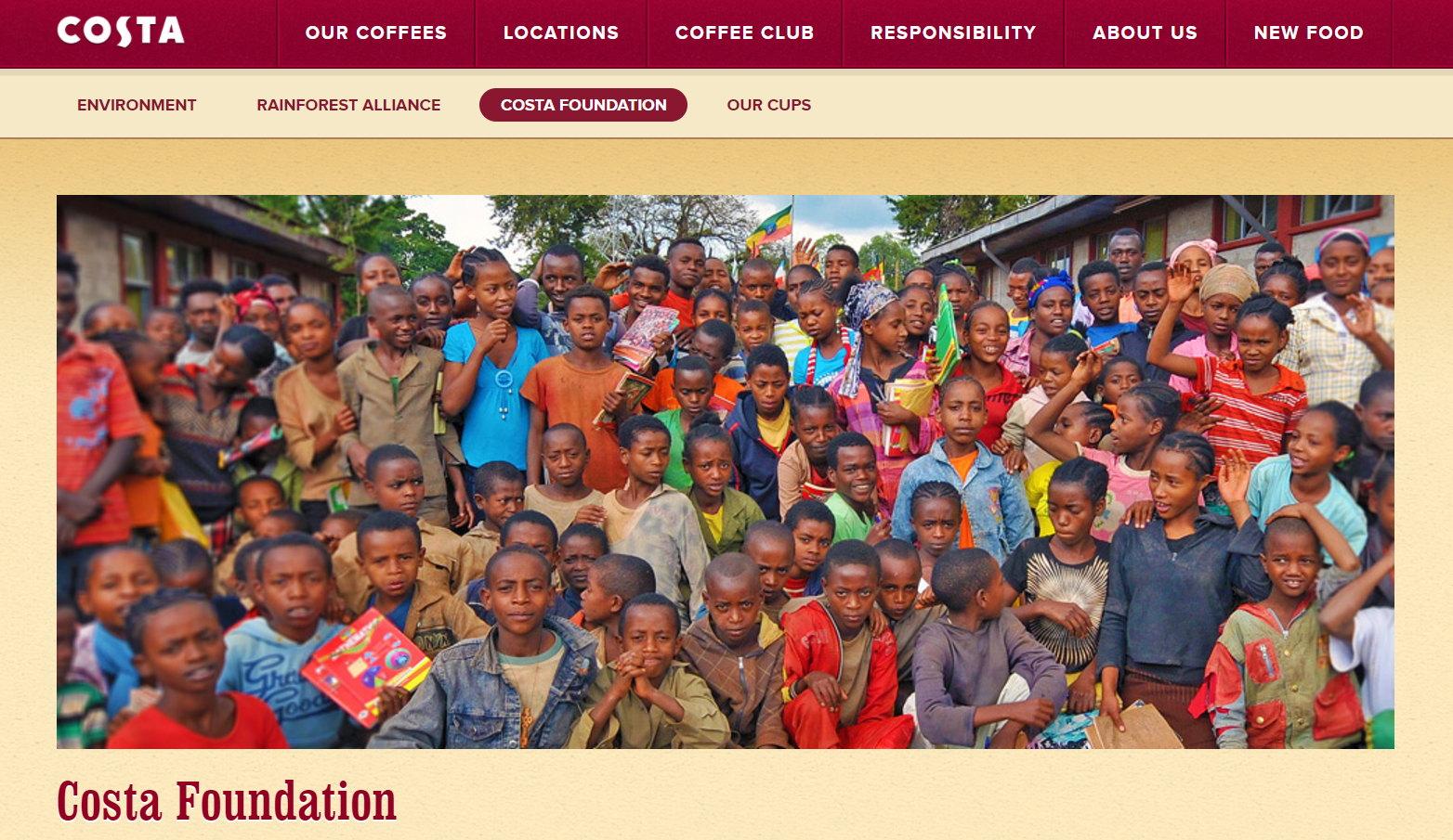Costa foundation shows supermarkets how it's done