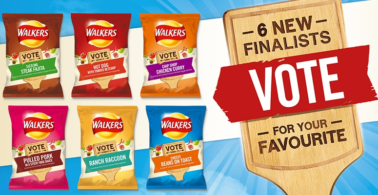 Walkers do us a flavour promotion hit the mark